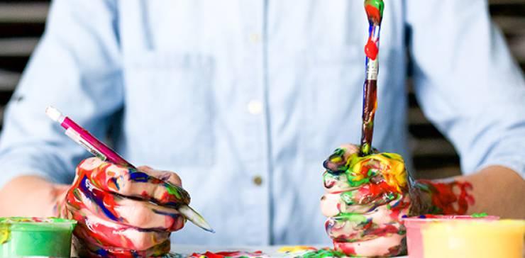 Kinder Kreativ Workshop: Freie Kunst