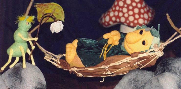 Weihnachts- märchen Holzwurm Theater: Der Lüttemann