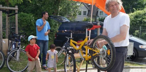 Wir machen Flüchtlinge mobil – unsere Fahrradprojekte