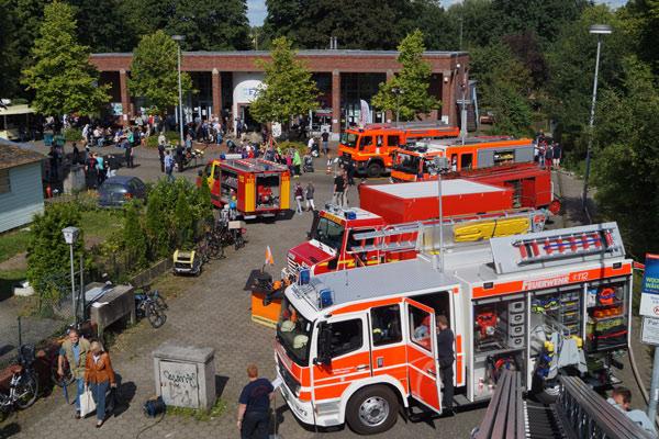 Schnelsener Feuerwehrtag der Freiwilligen Feuerwehr