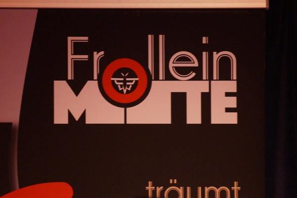1. jähriges Bühnenjubiläum von Frollein Motte