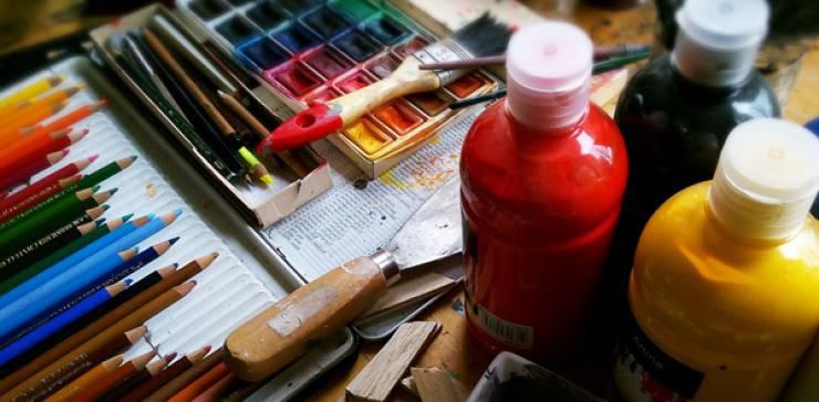 Ein Tag in Farbe