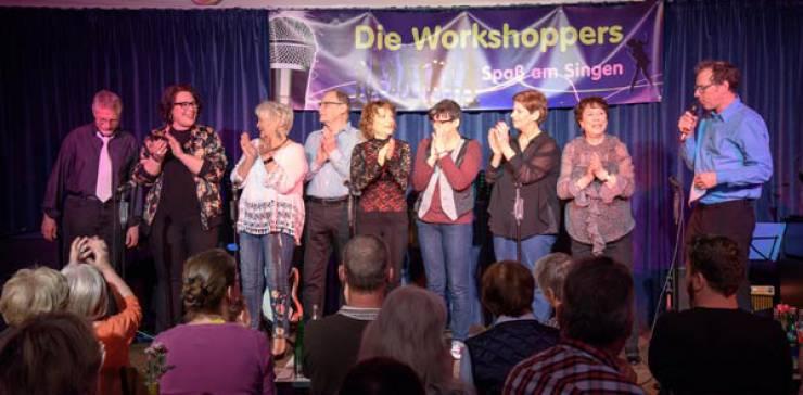 Die Workshoppers – Wer A-brockt muss auch B-alladen