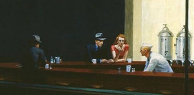 Kunst + Kaffee + Kuchen  –  Veronica Kranich – Edward Hopper