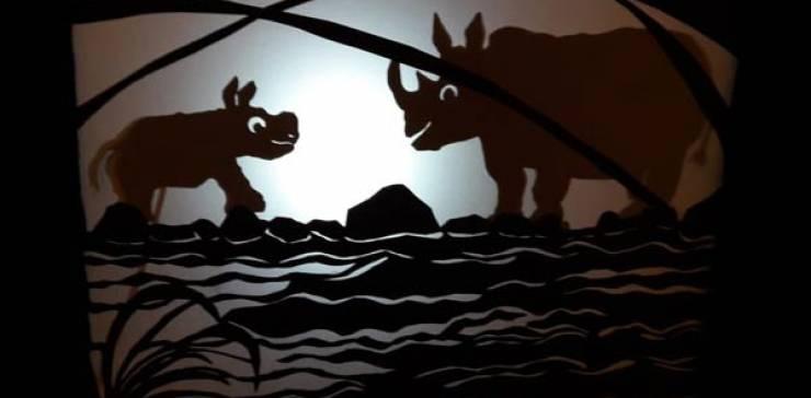 Schattentheater Anna Fabuli – Das Kleine Hörnchen findet einen Freund