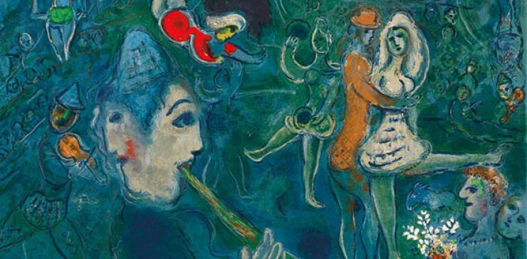Kunst + Kaffee + Kuchen  –  Veronika Kranich – Chagall