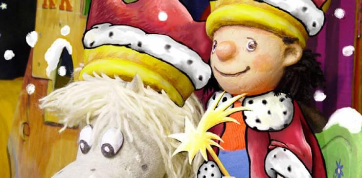 – AUSVERKAUFT – Unsere Weihnachtsgeschichte – Der kleine König und sein Pferd Grete