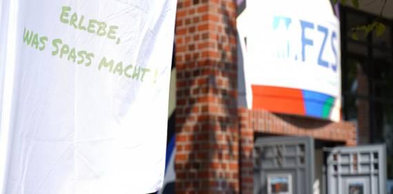 Bauarbeiten Frohmstrasse – neue Wege zum FZS
