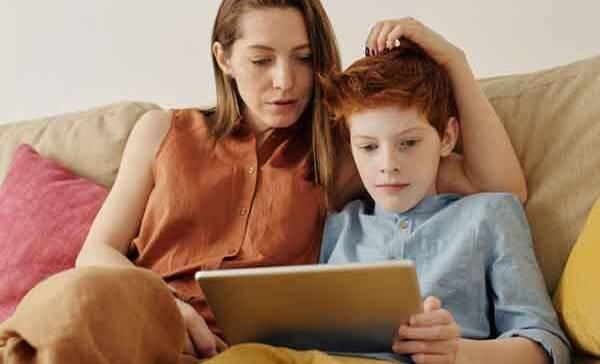 Eltern und Computerkids