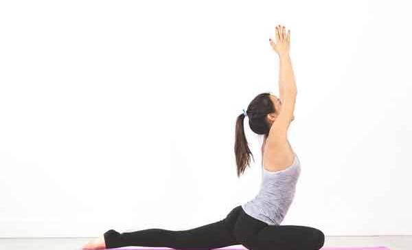 Yoga am Abend für Anfänger