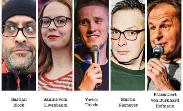Stand-Up Comedy- Das kommt mir komisch vor