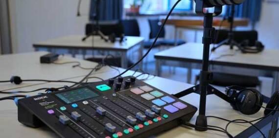 Neue Technik für unseren Podcast