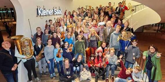 Spiel mit! – im Familienorchester der Elbphilharmonie